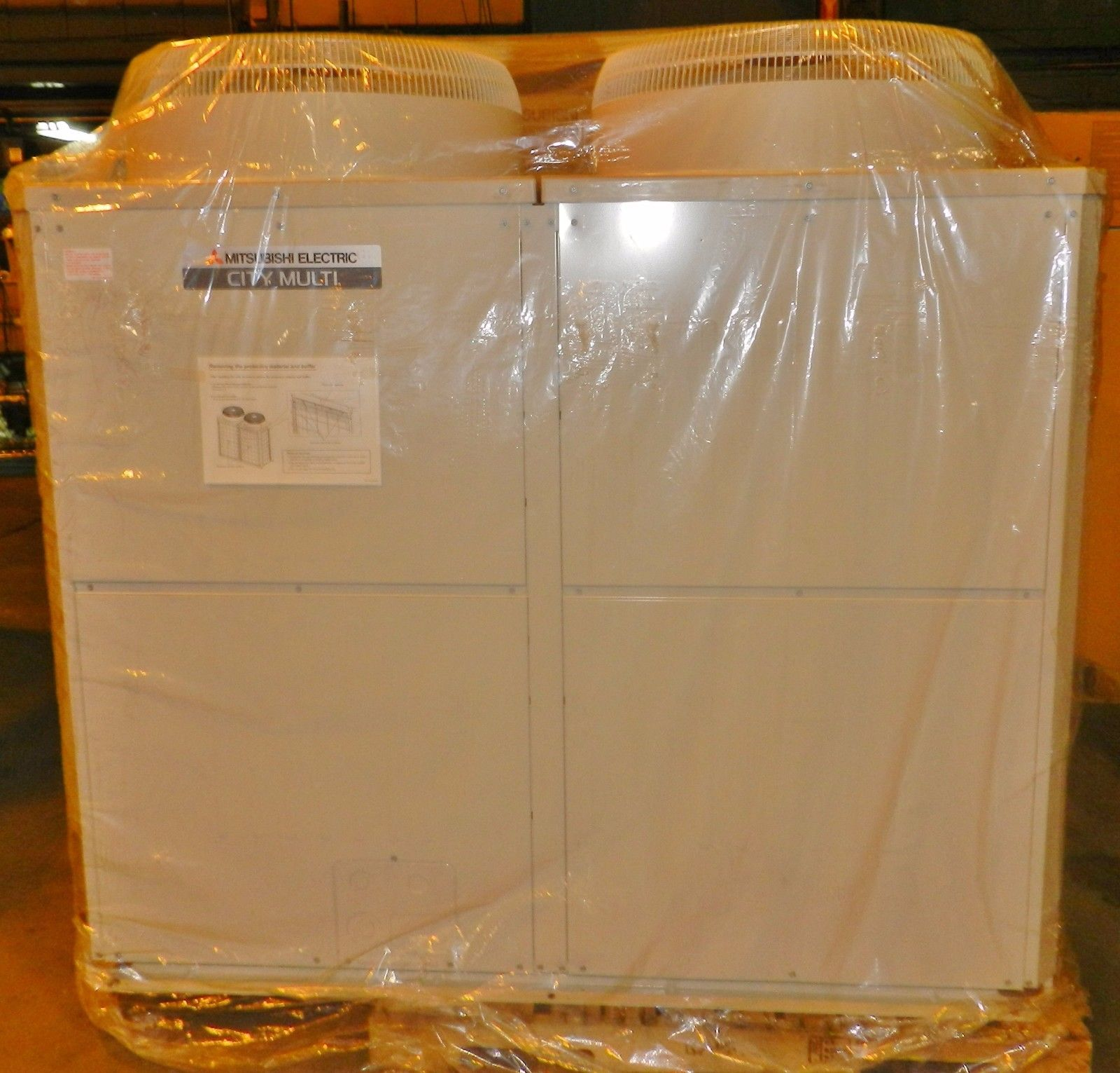 Lot 43 - Mitsubishi 10 Ton Air Conditioner Outdoor Unit