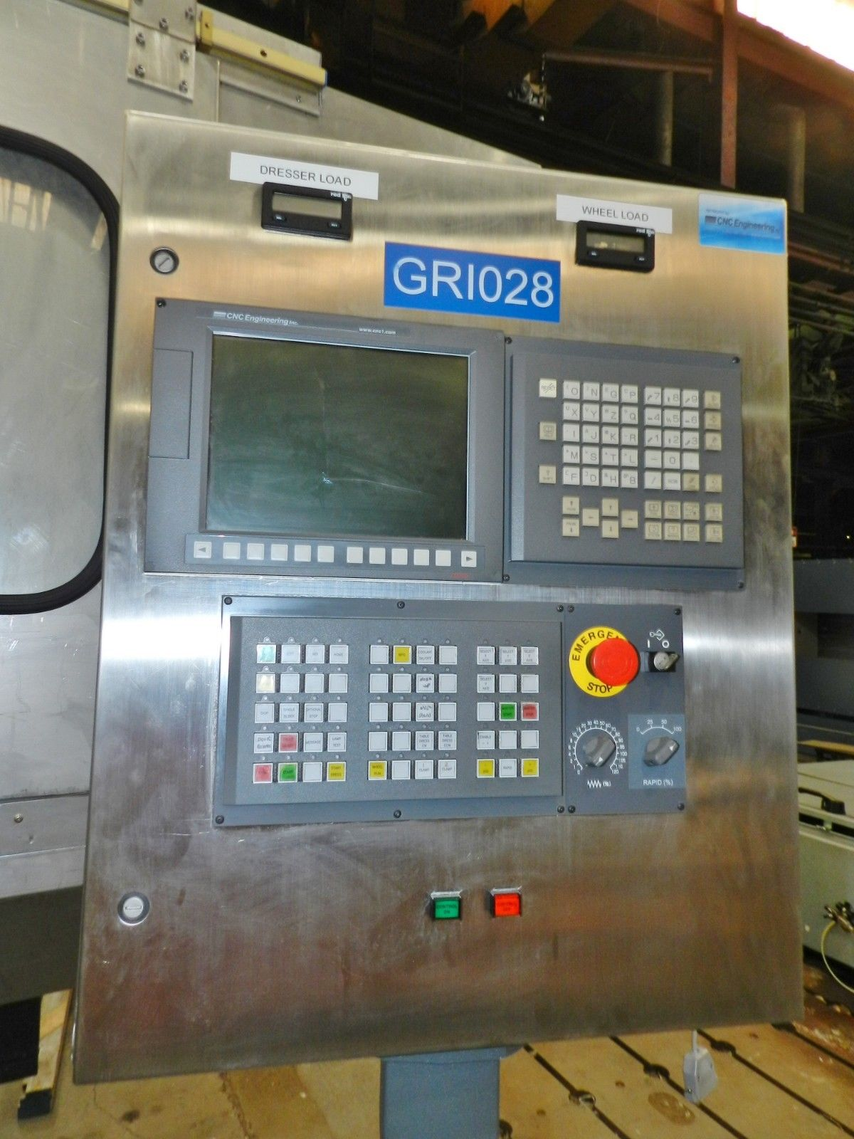 Lot 27 - Blohm Profimat 412 Creep Feed CNC Grinder - Fanuc Controls