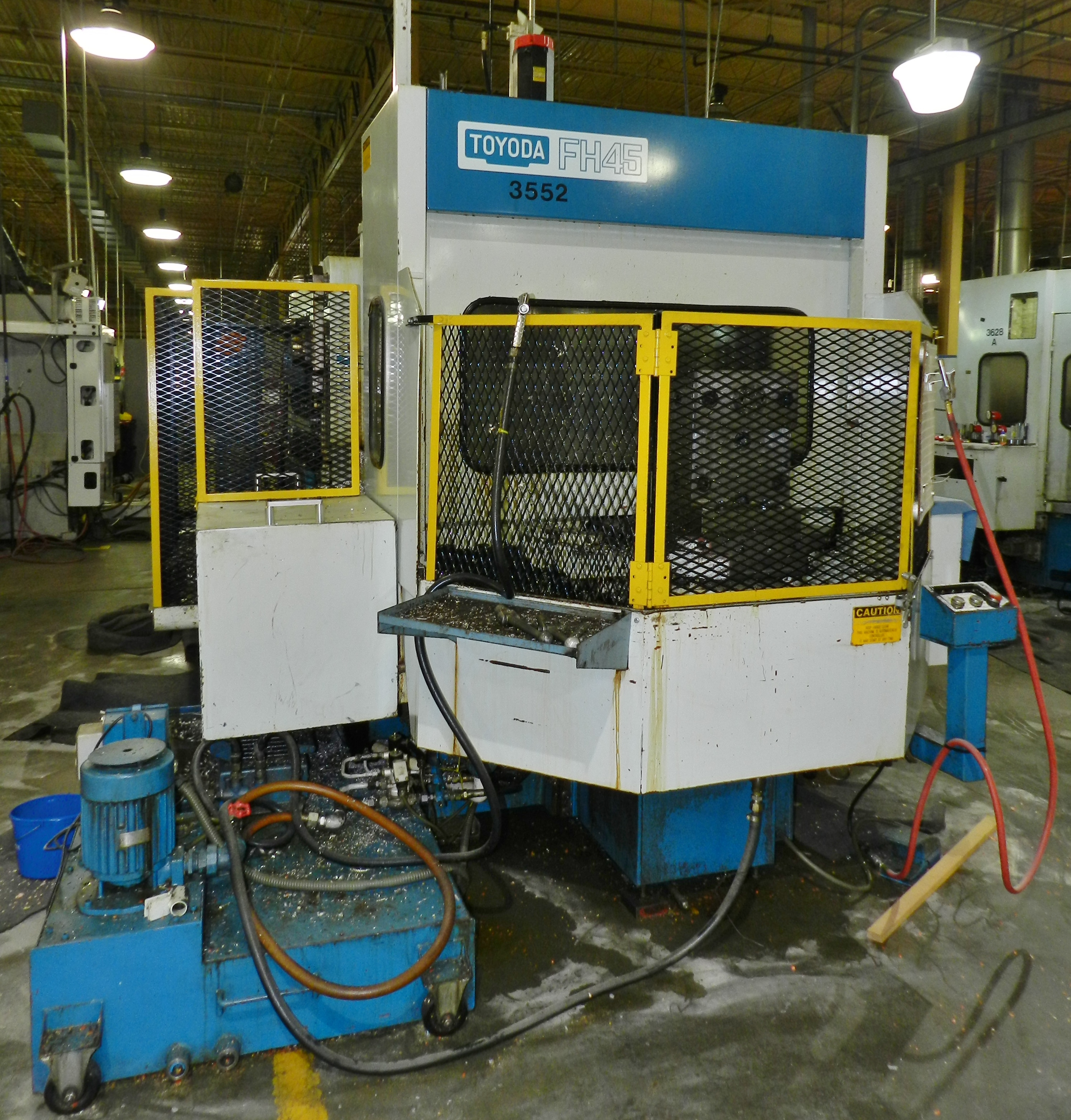 Lot 19 - Toyoda FH-45 Horizontal Machining Center