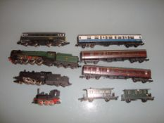 N GAUGE - A group of locos and rolling stock by Mi