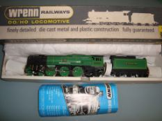 OO GAUGE - A Wrenn W2237 West Country Class locomo