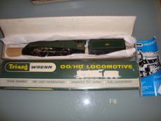 OO GAUGE - A Wrenn W2211 Class A4 locomotive in BR