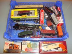 HO GAUGE - A group of HO scale wagons and other it