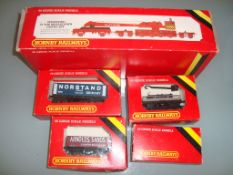 OO GAUGE - A small group of Hornby wagons to inclu