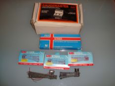 N GAUGE - A quantity of N Gauge track and points b