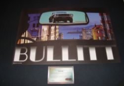 BULLITT (2013) - Limited Edition lithograph print by Zoetrope Galleries featuring classic Ford
