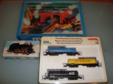 HO GAUGE - A group of HO items by Marklin, to incl