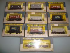 A group of assorted Wrenn wagons as lotted - Very