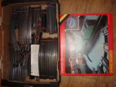 OO GAUGE - A large tray of mainly Hornby track and