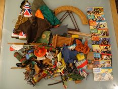 LARGE COLLECTION OF ACCESSORIES FOR THE MARX TOYS