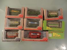 DIECAST: TRAY OF EFE AND BRITBUS LONDON TRANSPORT