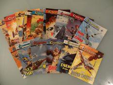 GROUP OF COMMANDO COMICS (1970s) - Good (17)