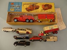 DIECAST: A GROUP OF MAINLY PLAYWORN VEHICLES - By