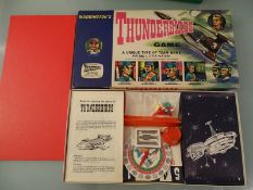 THUNDERBIRDS BOARD GAME - by Waddingtons - Content