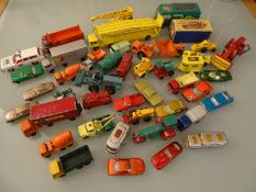 DIECAST: LARGE QUANTITY OF VEHICLES by Matchbox -