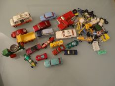 DIECAST: QUANTITY OF DIECAST VEHICLES by Dinky, Co