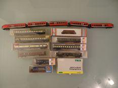 MODEL RAILWAYS - N GAUGE - A quantity of European