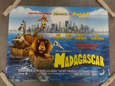 JOB LOT OF 50 UK Quads; to include MADAGASCAR (2005), UNLEASHED (2005), DROP ZONE (1994) and THE