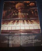 AMADEUS (1984) - French Grande Film Poster