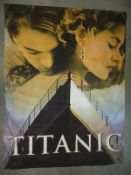 TITANIC (1997) - Fabric Banner 60' X 40' - Rolled - Very Good