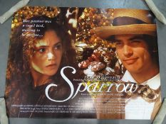 JOB LOT OF 50 UK Quads; to include SPARROW (1993), THE DISH (2000), THE HAND THAT ROCKS THE
