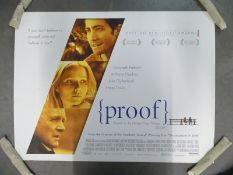 JOB LOT OF 50 UK Quads; to include PROOF (2005), MUNICH (2005), THE BOURNE SUPREMACY (2004) and KING