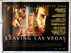 LEAVING LAS VEGAS (1995) - UK Quad Film Poster - F