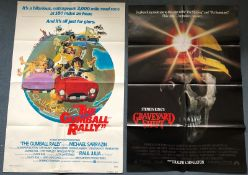 JOB LOT U.S. ONE SHEET x 10 - Titles to include THE GUMBALL RALLY (1976), GRAVEYARD SHIFT (1990),