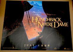 "THE HUNCHBACK OF NOTRE DAME (1996) Advance - UK Quad Film Poster (30"" x 40"" - 76 x 101.5 cm) –"
