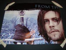 """KINGDOM OF HEAVEN LOT x 6 (2005) - 6 x British UK Quad Film Posters - (30"""" x 40"""" - 76 x 101.5 cm)"""