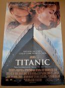 "TITANIC (1997) UK One Sheet Film Poster (27"" x 40"" – 68.5 x 101.5 cm) - Rolled - Very Good/Near"