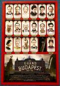 GRAND BUDAPEST HOTEL (2014) - U.S. One Sheet movie