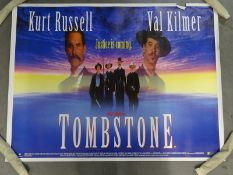 JOB LOT X 22 UK QUADS; to include TOMBSTONE (1993), RISING SUN (1993) and THE CONCIERGE (1993) -