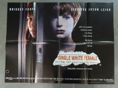 JOB LOT X 18 UK QUADS; to include SINGLE WHITE FEMALE (1992), MY GIRL (1991), MORTAL THOUGHTS (