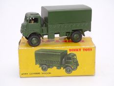 DINKY DIECAST: 623 Army Covered Wagon - VG in P bo