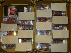 QUANTITY OF FORMULA 1 COLLECTION DIECAST CARS BE D