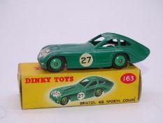 DINKY DIECAST: 163 Bristol 450 Sports Coupé - gree