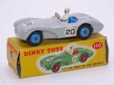 DINKY DIECAST: 110 Aston Martin DB3S Sports Car -