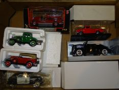 QUANTITY OF AMERICAN OUTLINE DIECAST: by Welly and
