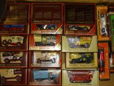 TRAY OF MATCHBOX MODELS OF YESTERYEAR: mostly in m