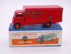 DINKY SUPERTOYS: 514 Guy Van in Slumberland Livery