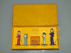 DINKY - NUMBER 49 PETROL PUMP SET - A/F - some maz
