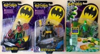BATMAN Lot x 3 (2003) - Single Figure packs produc