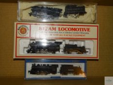 N GAUGE - GROUP OF US OUTLINE STEAM LOCOMOTIVES BY BACHMANN (one A/F) - G/VG in G boxes (where