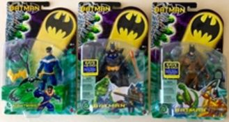BATMAN Lot x 3 (2003/04) - Single Figure packs pro