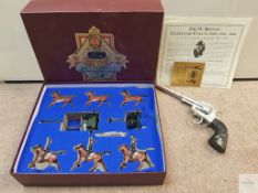 "BRITTAIN'S CENTENARY COLLECTION SET NUMBER 8825 ""ROYAL HORSE ARTILLERY GUN TEAM"" - VG in F/G box -"