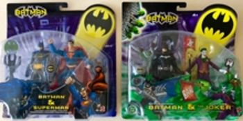 BATMAN Lot x 2 (2003) - Double Figure packs produc