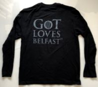 GAME OF THRONES - CREW - LONG SLEEVED T-SHIRT XL - unused/unworn - only removed from packaging for