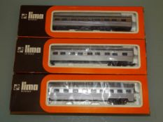A group of Australian Outline HO Gauge coaches by LIMA as lotted - G/VG in F/G boxes (3)