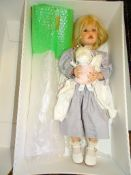 "A GÖTZ 439/22 Artist Doll - 25.5"" as lotted - boxed"